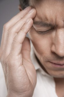 My Blog. Library Image: Man with Headache
